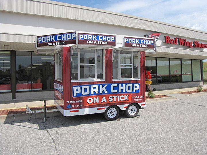 Pork Chop On A Stick